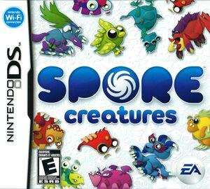 Boxart de Spore Creatures para Nintendo DS.jpg